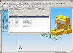 Cyco AutoManager BOM Module inside SolidWorks Assembly model