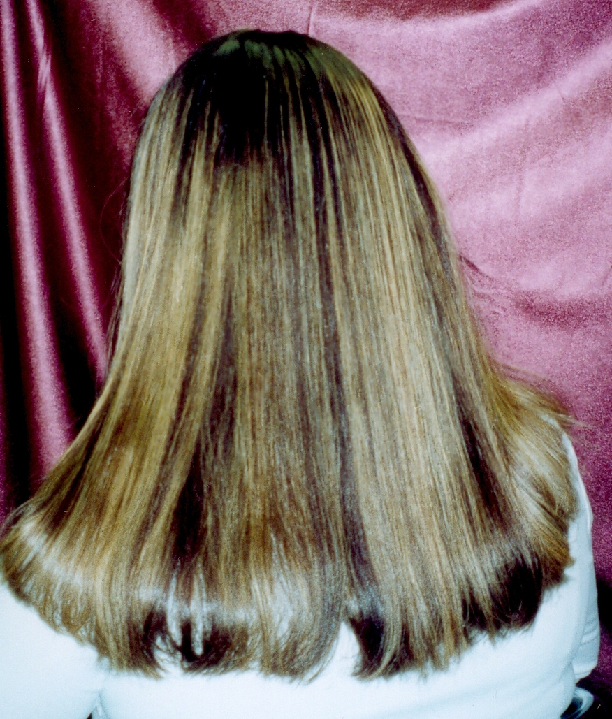 Relaxed Caucasian Hair Before And After Www Pixshark Com