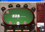Table Play of Poker Academy Texas Hold'em