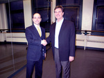 Apogee President Kenneth Schneider with John Meehan, ABT's Artistic Director of Education and Training