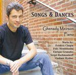 "Piano Solo CD -- ""Songs & Dances"""