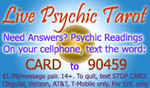 Live Psychic Tarot Text Message Readings