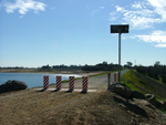 Solar-Powered Barriers Protect Dam