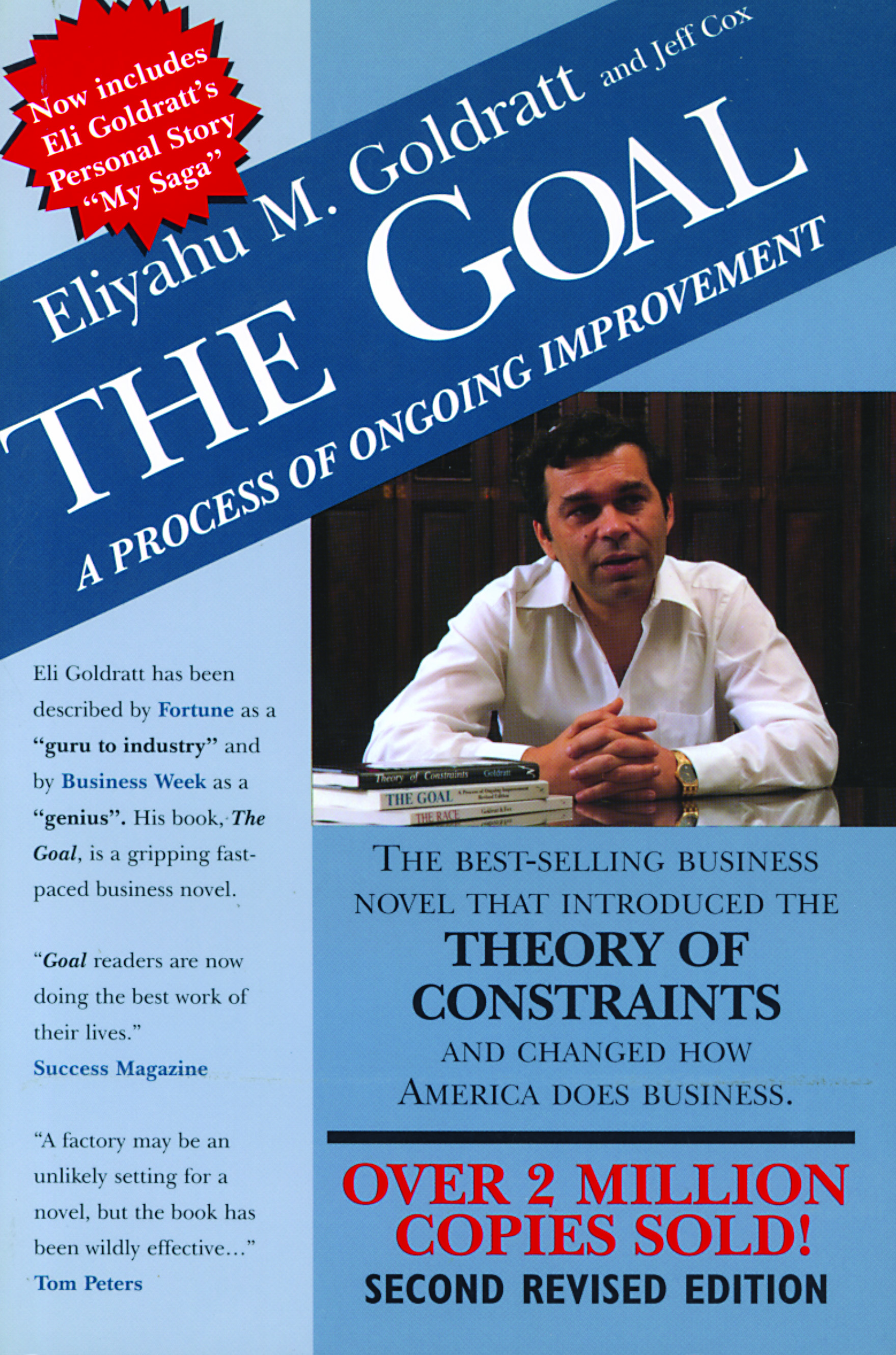 goal by goldratt Eliyahu goldratt's the goal is an entertaining novel and at the same time a thought provoking business book the story is about a plant manager, alex rogo, whose plant and marriage are going downhill.