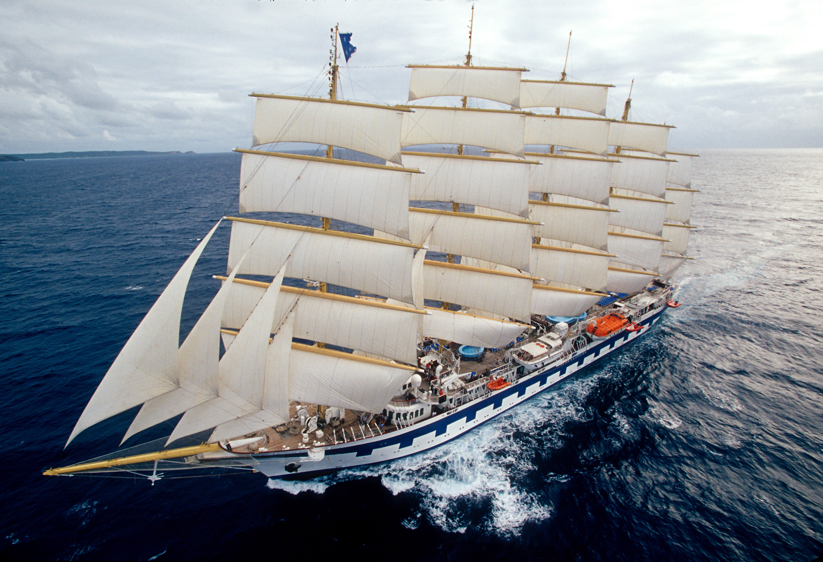 ... Professional Navigation Training on Transatlantic Tall Ship Voyage