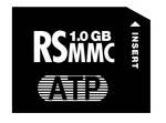 ATP High Speed 1GB RS-MMC