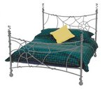Smiddy wrought iron bed