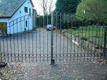Smiddy wrought iron gates