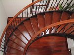 Smiddy wrought iron spiral stairs