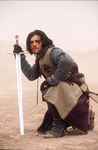 "Orlando Bloom stars as Balian of Ibelin in ""Kingdom of Heaven."""