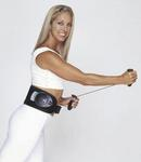 Denise Austin wearing the PowerBelt