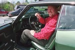 Emcee Sparky Nolan in 1970 Chevelle SS 454 LS6