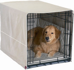 Cratewear- The Only Complete 3-Piece Dog Crate Bed Set