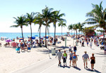 Hollywood Beach Boardwalk, Three Miles of Unique Beachfront Promenade