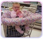 HandMade4Baby Custom Shopping Cart Covers