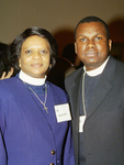 The Rev. Angela Ifill and the Rev. Joseph Constant.