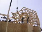 Wausau Timber Fraame Raising
