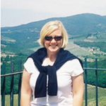Photo of Kathy McCabe, Editor and Publisher, Dream of Italy