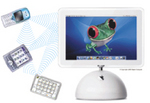 Bluetooth Wireless devices with FrogPad
