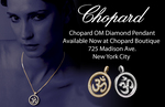 Chopard OM Diamond Pendant