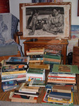 """""""Gauguin Charcoal and Gauguin book Library"""""""