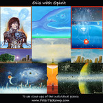 Johnm Oprah, paintings from 3 different decades