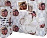 Personalized Wedding Gift Wrap