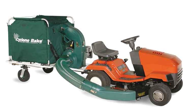 Two New More Powerful Cyclone Rake Lawn Vacuum Models