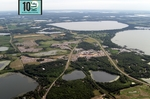 Aerial Image of the 10,000 Lakes Festival - Hi Res JPG