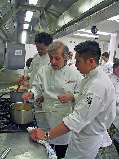 French chef patrice olivon joins professional teaching for Academy de cuisine