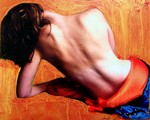 """Her Desires"", Photography and Acrylic on Canvas, c. 2005, Michelle Firment Reid"