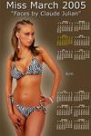 Model Kim -  Miss March 2005