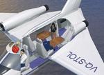 Jetpod P-200 interior.
