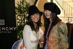 Eva Longoria and Bai Ling