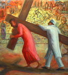 Station V - Simon of Cyrene Helps Carry the Cross