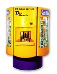 DVmatic automated rental machine