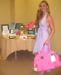 Drea DeMatteo, one of the hosts for the Rock and Royalty to Erase MS Event with the VIP Gift Bag.
