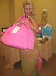 Nicollette Sheridan of Desperate Housewives with the Rock and Royalty to Erase MS VIP Gift Bag
