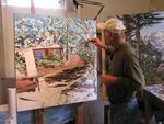 Master Painter Curt Layman at Work