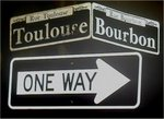"""Historic Bourbon Street & Toulouse in the French Quarters"