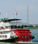 The authentic Steamboat Natchez, a truly classic expression of the best of America's great steamboat tradition!""