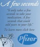 Pfizer patient awareness campaign
