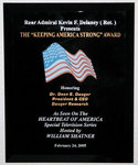 """""""Keeping America Strong"""" Award for Dauger Research"""