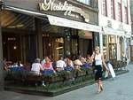 Outdoor Cafe in Riga Old City