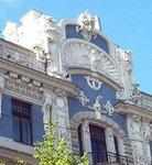 Art Nouveau Building Riga Latvia