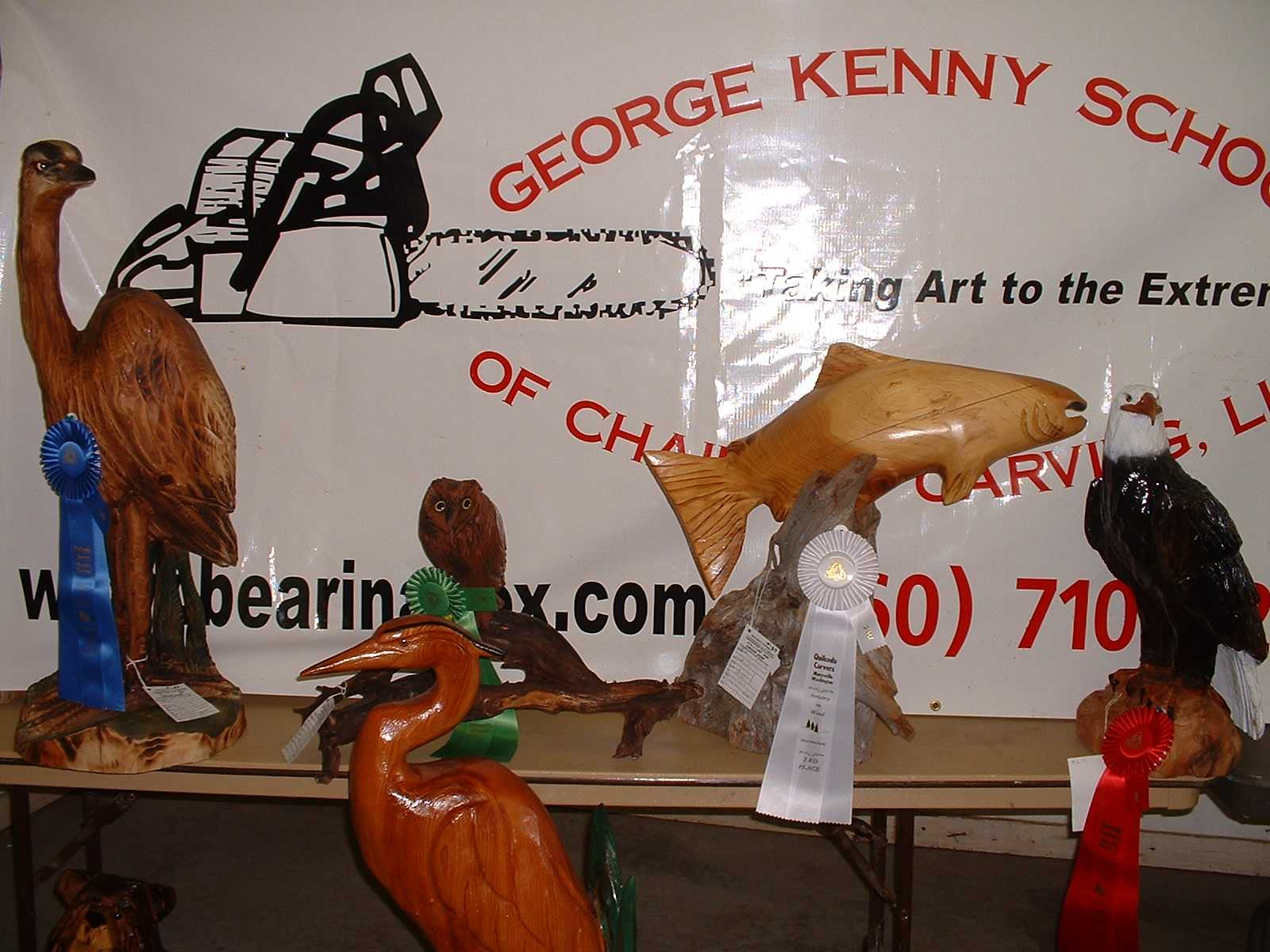 These chainsaw carving students are a cut above