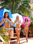 Swimsuit Presentation Miss Florida USA at Villa Sinclair beach Suites & SPA