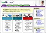Lowbid.com Homepage