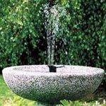 Convert any bird bath into an active fountain!