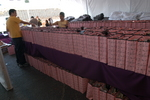 Lakers Youth Foundation Gift Bags in the Tent